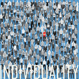 Be individual being in the crowd Royalty Free Stock Photography