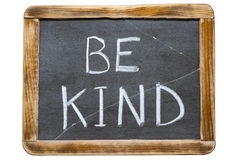 Be kind tr Royalty Free Stock Photo