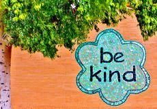 Be kind Royalty Free Stock Photography