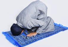 be kvinnabarn för muslim royaltyfri bild