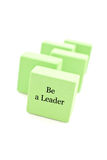 Be a Leader Stock Photography