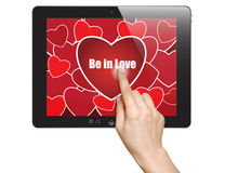 Be in love Royalty Free Stock Images