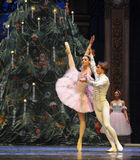 Be in love with each other-The Ballet  Nutcracker Royalty Free Stock Image