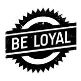 Be loyal stamp Stock Photo