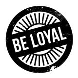 Be loyal stamp Stock Images