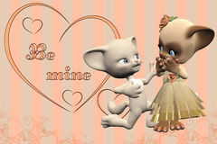 Be mine Stock Photography