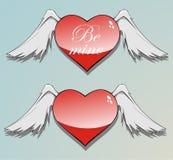 Be mine heart Royalty Free Stock Photography