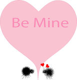 Be Mine Valentine Stock Photo