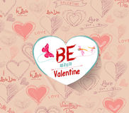Be mine valentine Stock Photos