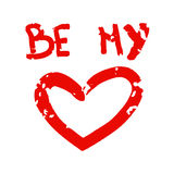 Be my love Stock Photography