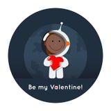 Be my space Valentine Stock Photo