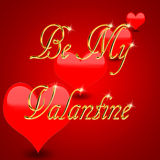 Be my Valantine Stock Photography