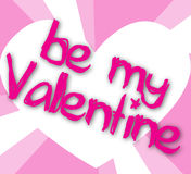 Be my valentine Royalty Free Stock Photos