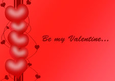 Be my Valentine Royalty Free Stock Images