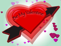 Be My Valentine Royalty Free Stock Image
