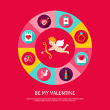 Be My Valentine Concept Stock Photography