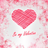 Be my Valentine. + EPS8 Royalty Free Stock Photos