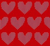 Be my Valentine on golden heart Stock Images