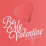 Be my valentine -  illustration Stock Photography