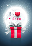 Be My Valentine Moon Royalty Free Stock Photos