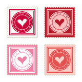 Be My Valentine Scalable Stamps Stock Image