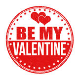Be my Valentine stamp Stock Photos