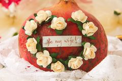 Be my wife! Stock Photos