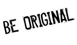 Be Original rubber stamp Royalty Free Stock Image