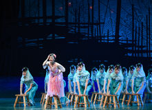 """Be out of the ordinary-Dance drama """"The Dream of Maritime Silk Road"""". Dance drama """"The Dream of Maritime Silk Road"""" centers on the plot of two Royalty Free Stock Photo"""