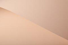 beżowy karton Fotografia Stock
