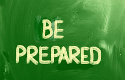 Be Prepared Concept Royalty Free Stock Photo