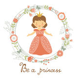 Be a princess card Stock Images