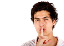 Be quiet Royalty Free Stock Image