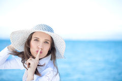 Be Quiet And Enjoy Royalty Free Stock Image
