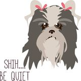 Be Quiet Royalty Free Stock Photography
