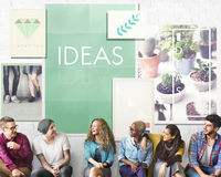 Be Raw Creative Design Ideas Concept Royalty Free Stock Photography