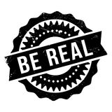 Be real stamp Stock Photo