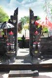 Be relikskrin för Balinese, Kuta, bali, Indonesien Fotografering för Bildbyråer