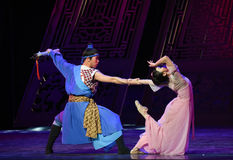 """Be reluctant to part-Dance drama """"The Dream of Maritime Silk Road"""" Stock Images"""