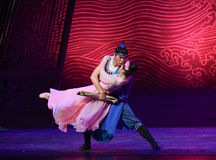 """Be reluctant to part-Dance drama """"The Dream of Maritime Silk Road"""" Royalty Free Stock Photos"""
