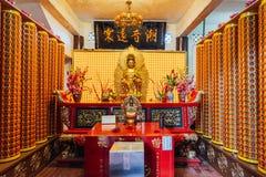 Be rum av Keken som Lok Si Temple är en buddistisk tempel i Penang och är en av de bästa bekanta templen på ön royaltyfri foto