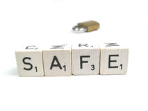 Be safe Royalty Free Stock Photography