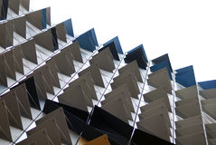 Be sharp. Facade in Australia building , like a Durian stock photography