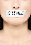 Be silent Royalty Free Stock Photography