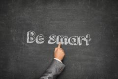 Be smart concept Stock Photography