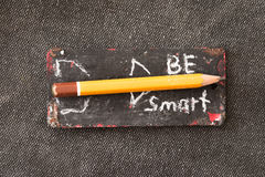 Be Smart concept Royalty Free Stock Photos