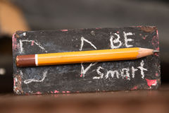 Be Smart concept Royalty Free Stock Photography