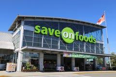Be*sparen op voedsel Stock Foto's