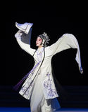 "Be suppressed by the tower-The ninth act Sealing the bowl-Kunqu Opera""Madame White Snake"". Legend of the White Snake is one of the most famous tales Royalty Free Stock Photos"