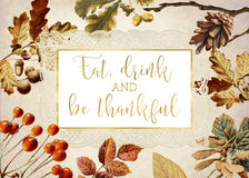 Be Thankful Stock Image